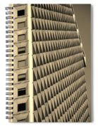 Many Windows In Sepia Spiral Notebook