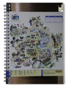 Map Of The Jurong Bird Park Along With A Tourist Spiral Notebook