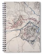 Map: Siege Of Atlanta 1864 Spiral Notebook