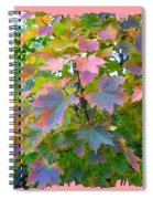 Maple Magnetism Painting Spiral Notebook
