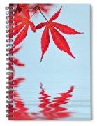 Maple Reflection Spiral Notebook