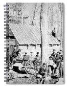 Maple Sugar Party, C1900 Spiral Notebook