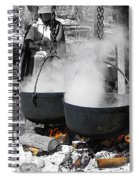 Maple Syrup Pioneer Style Spiral Notebook