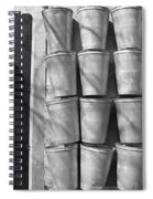 Maple Syrup Sap Pails Spiral Notebook