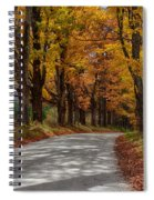 Maple Tree Road Spiral Notebook