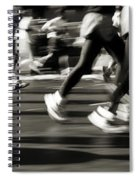 Marathon, Nyc, New York City, New York Spiral Notebook