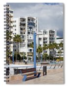 Marbella Apartment Buildings Spiral Notebook
