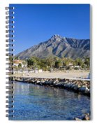 Marbella Holiday Resort In Spain Spiral Notebook