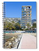Marbella Resort In Spain Spiral Notebook