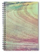 Marble Background Spiral Notebook