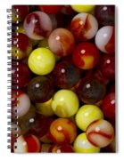 Marble Collection 19 Spiral Notebook