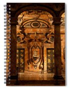 Marble Decor In The Sevilla Cathedral Spiral Notebook