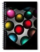 Marble Heart Spiral Notebook