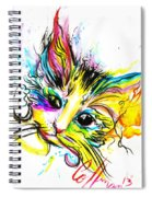Marble The Cat Spiral Notebook