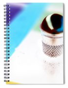 Marble And The Thimble Spiral Notebook