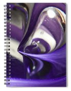 Marble Wilkerson Glass 4 Spiral Notebook