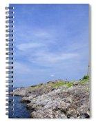 Marblehead Light Spiral Notebook