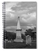 Marblehead Old Burial Hill Cemetery Spiral Notebook