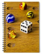 Marbles Board Game 1 C Spiral Notebook
