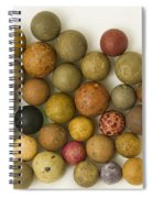 Marbles Clay 1 Spiral Notebook