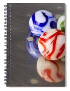 Marbles Strainer 2 Spiral Notebook