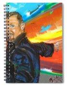 Marcello Cicchini Mural Spiral Notebook