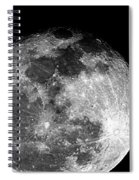 March Full Moon Spiral Notebook