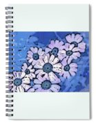 March Of The Daisies Spiral Notebook