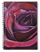 March Rose Spiral Notebook