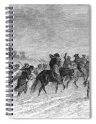 March To Trenton, 1776 Spiral Notebook