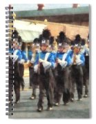 Marching Band Spiral Notebook