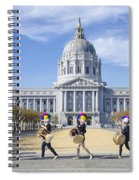 Marching By Spiral Notebook