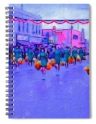 Marching In The Parade Spiral Notebook