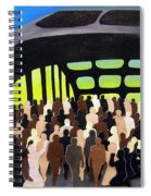 Marching Into History Spiral Notebook