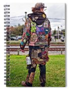 Marching To His Own Drummer 3 Spiral Notebook