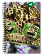 Mardi Gras Beads Spiral Notebook