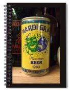 Mardi Gras Beer 1983 Spiral Notebook