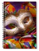 Mardi Gras - Celebrating Mardi Gras  Spiral Notebook