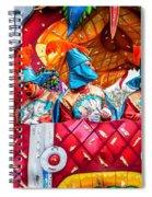 Mardi Gras Float 2 Spiral Notebook