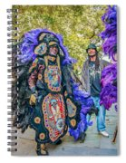 Mardi Gras Indian Spiral Notebook