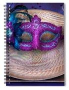 Mardi Gras Theme - Surprise Guest Spiral Notebook