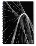 Margaret Hunt Hill Bridge Dallas Texas Spiral Notebook