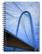 Margaret Hunt Hill Bridge Dawn Spiral Notebook