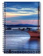 Margaret Todd At Sunrise Spiral Notebook