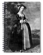 Margaret Woffington (c1714-1760) Spiral Notebook