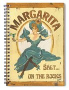 Margarita Salt On The Rocks Spiral Notebook