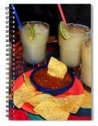 Margarita Time Spiral Notebook