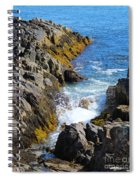 Marginal Way Crevice Spiral Notebook