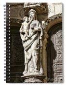 Maria Gratia Plena Spiral Notebook
