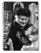 Maria Montessori Spiral Notebook